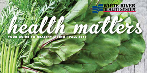 Dr EJ Jones MD featured in Health Matters fall-2017
