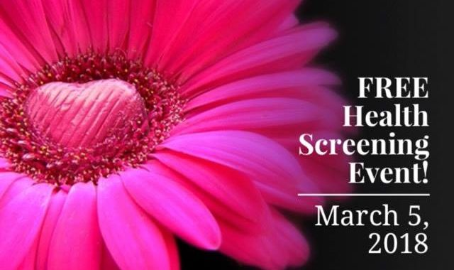 Free Health Screening Event March 5, 2018 and HER HealthSource Grand Opening