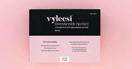 Dr. E.J. Jones M.D. in Batesville, AR now offers Vyleesi by prescription.